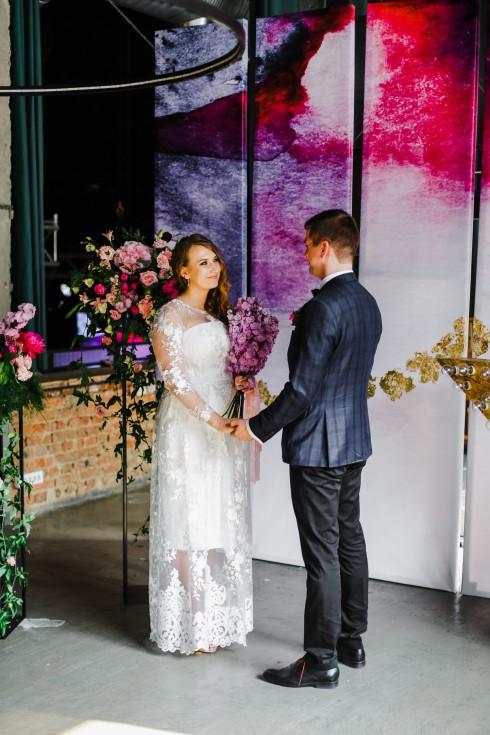 Свадьба «Глэм Рок»