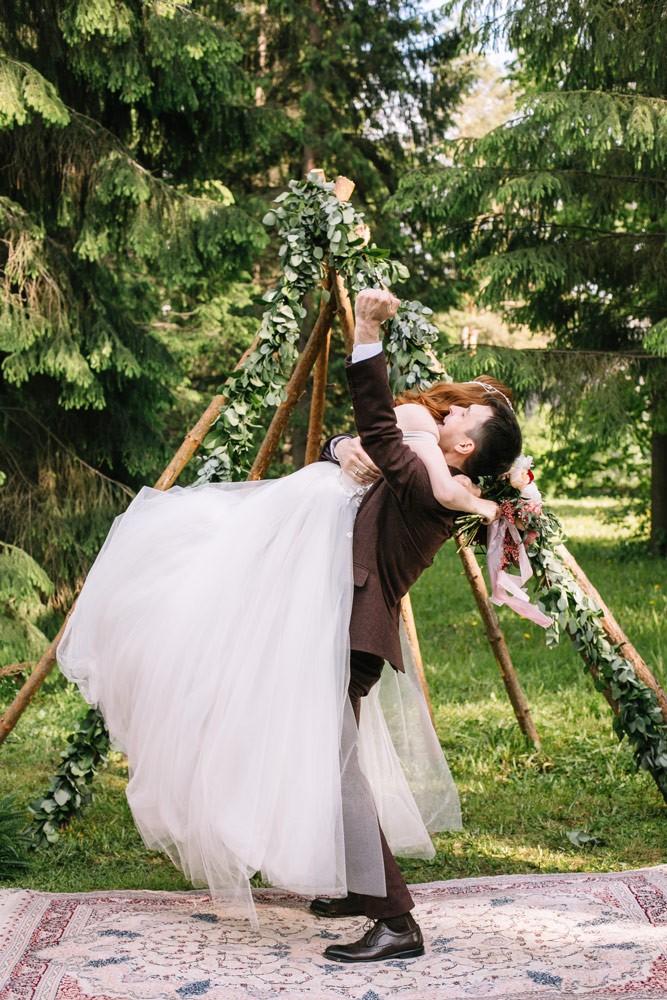 """Свадьба """"Летнее бохо"""""""