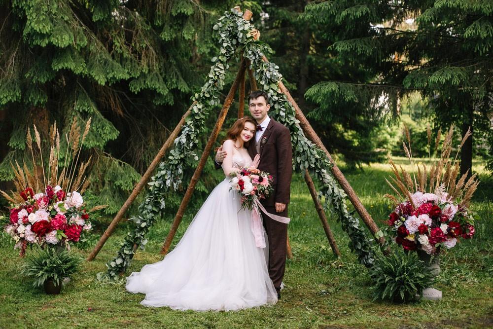 Свадьба «Летнее бохо»