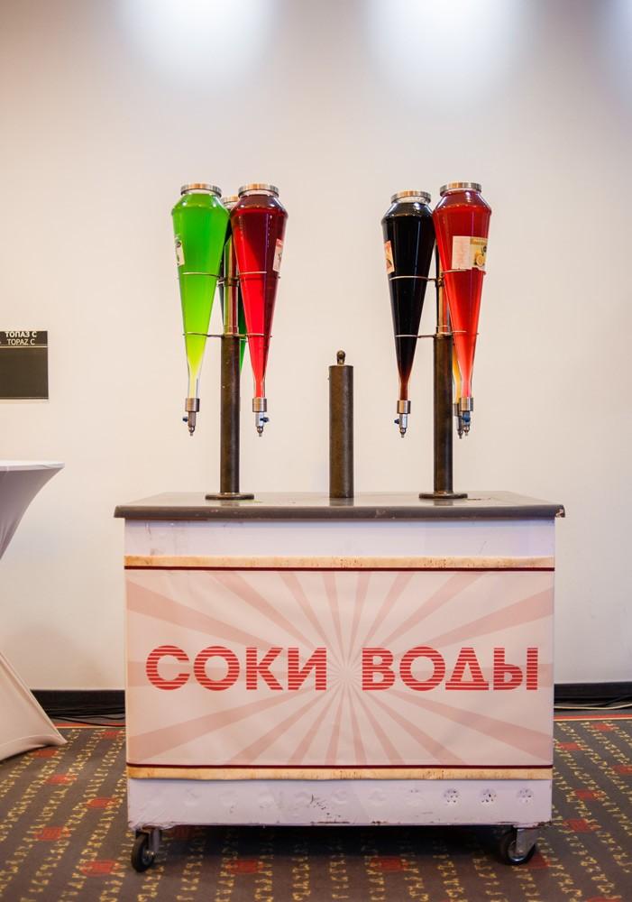 Декор стойки с напитками